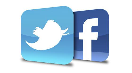 El poder de Facebook y Twitter