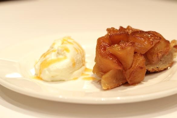 Tarta sablée de manzana