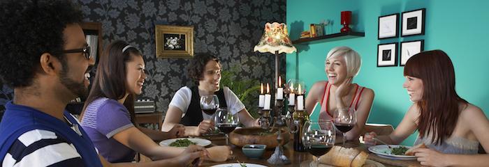 Meal Sharing: conocer amigos alrededor de la comida
