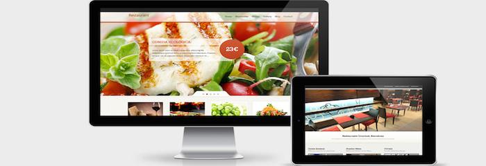 Las 5 reglas básicas a seguir para crear páginas web de restaurantes